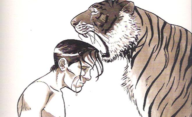 Viñeta de la novela gráfica 'El caso Pasolini', de Gianluca Maconi (Editorial Gallographics)