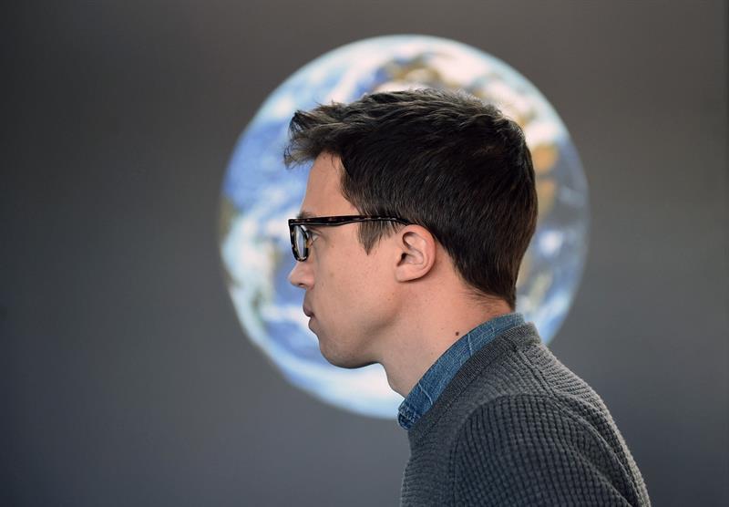 Íñigo Errejón, en el Planetario de Madrid. EFE/ Fernando Villar