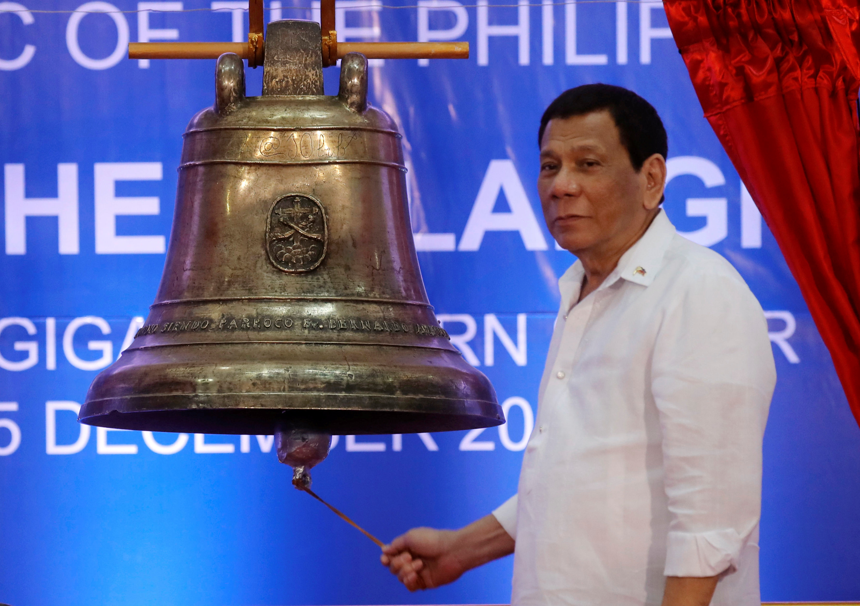 El Presidentede Filipinas, Rodrigo Duterte. - REUTERS