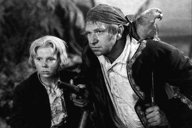 Fotograma de la película 'La isla del tesoro' (1934) dirigida por Víctor Fleming