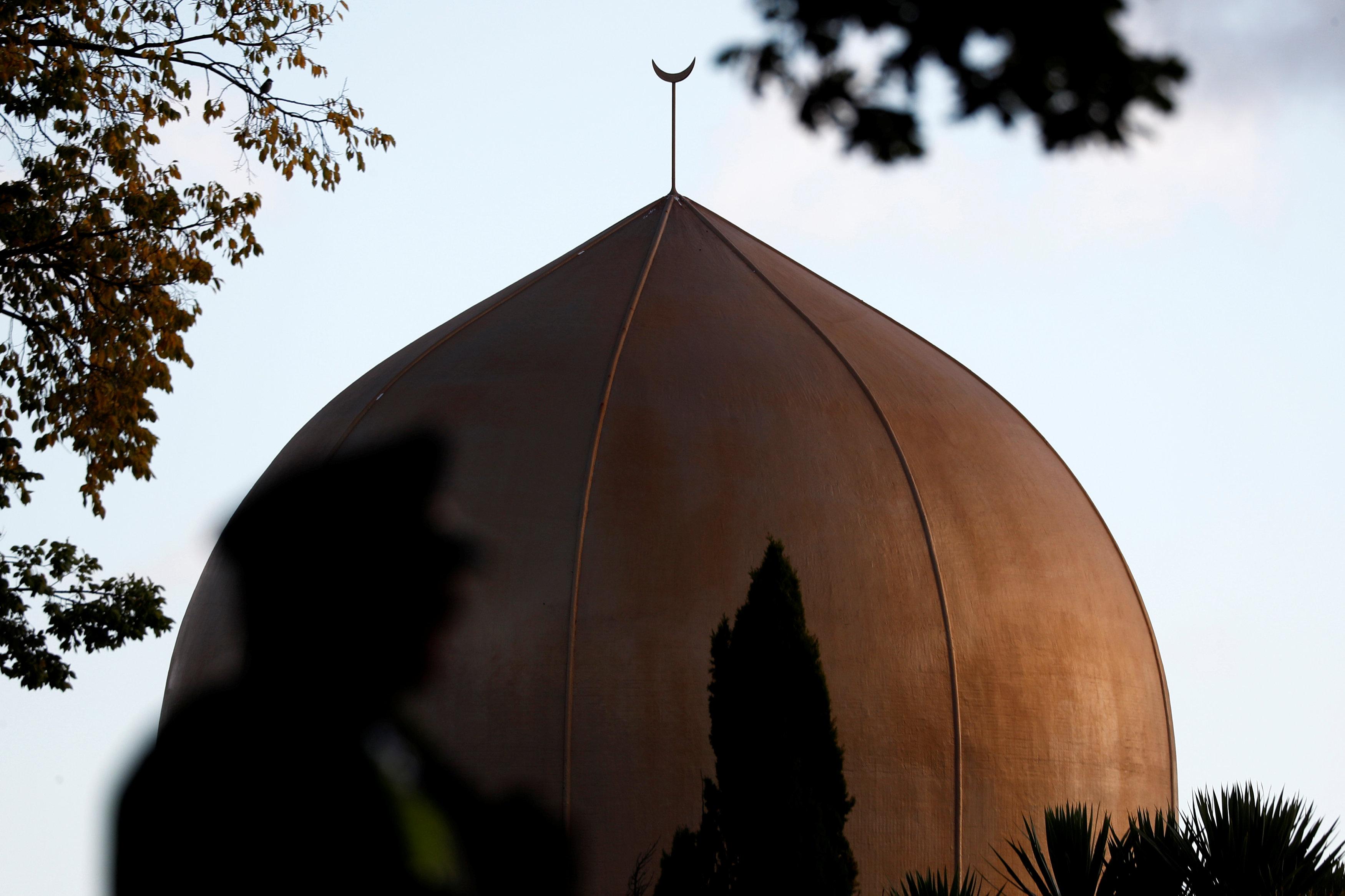 Vista de la cúpula de la Mezquita de Al Noor, ela ciudad neozelandesa de Christchurch objeto de un atentado por ultraderechistas. REUTERS/Edgar Su