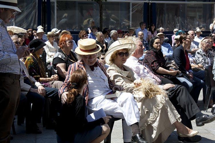 Todos los 16 de junio se celebra en Dublín el BloomsDay, que sigue los pasos del protagonista del Ulises por la capital irlandesa. Stéphane Moussie / Flikr