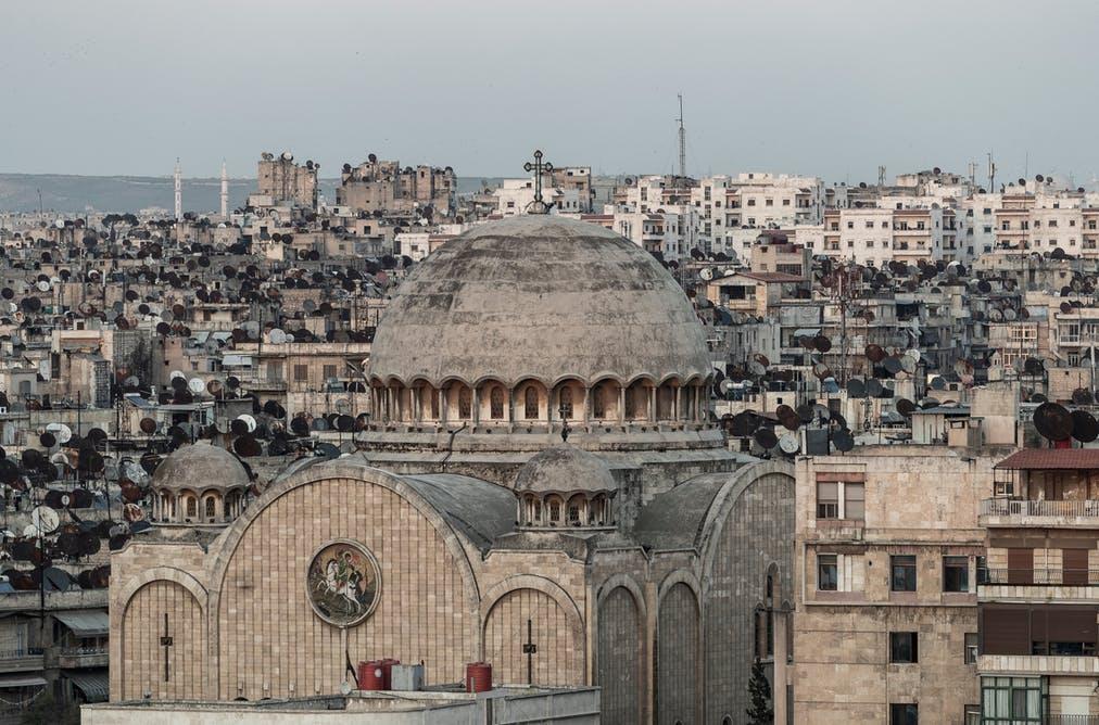 Aleppo (Siria), 2019. Smallcreative / Shutterstock