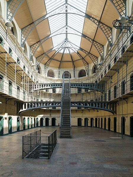 Interior de la cárcel-museo de Kilmainham, Dublín.Foto: Wikipedia