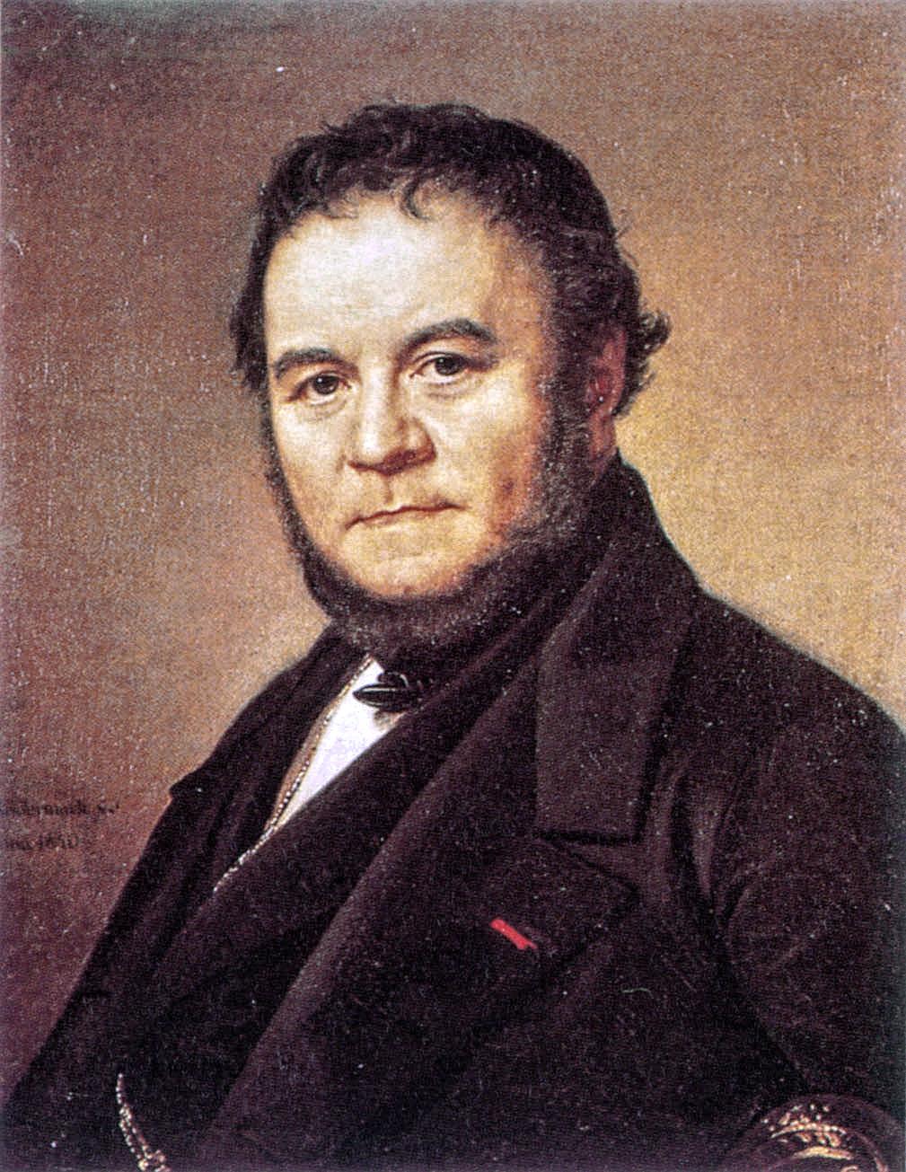 El escritor Henri Beyle, más conocido por su seudónimo Stendhal.