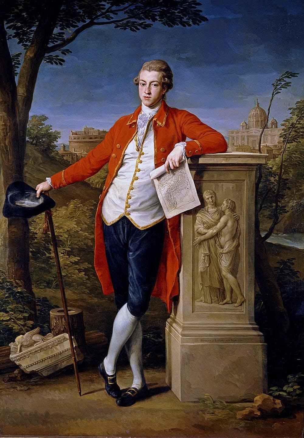 Retrato de Francis Basset, Primer Baron de Dunstanville y Basset, durante su Grand Tour. Museo del Prado / Wikimedia Commons