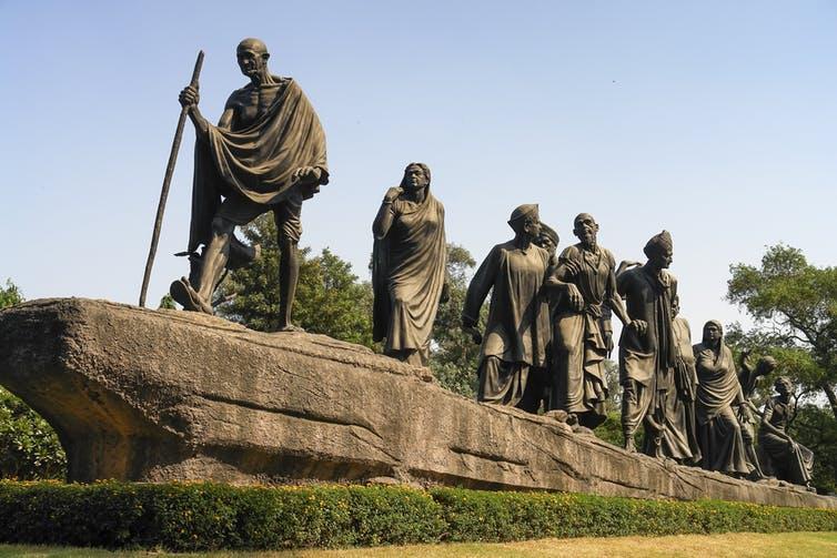 El pacifismo de Gandhi le convirtió en líder del activismo por los derechos civiles, pero también era un ejemplo a seguir para los empresarios. Arthur Simoes/Shutterstock.com