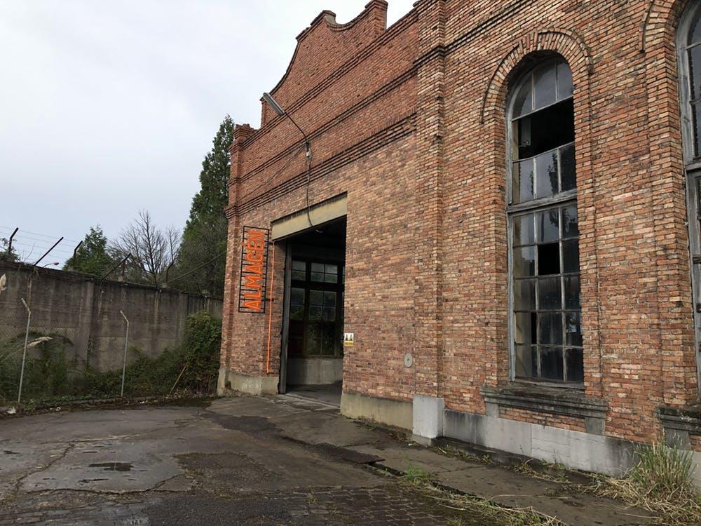 La Fábrica de Armas de la Vega, en Oviedo, reconvertida durante los Premios Princesa de Asturias. C.L.R.