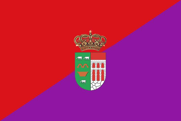 Bandera de la localidad madrileña de Navalagamella.