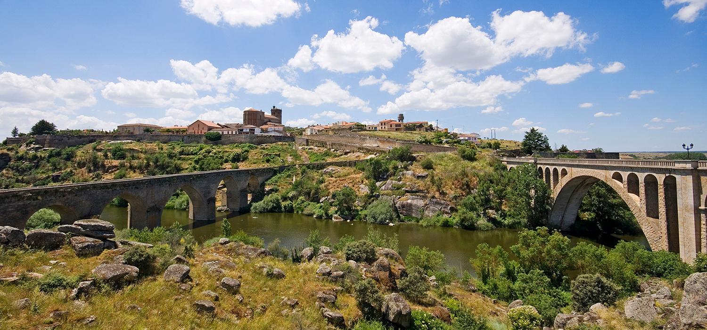 Vista de Ledesma (Salamanca), donde nació Teresa Hernández Cañedo. http://www.turismoledesma.com/