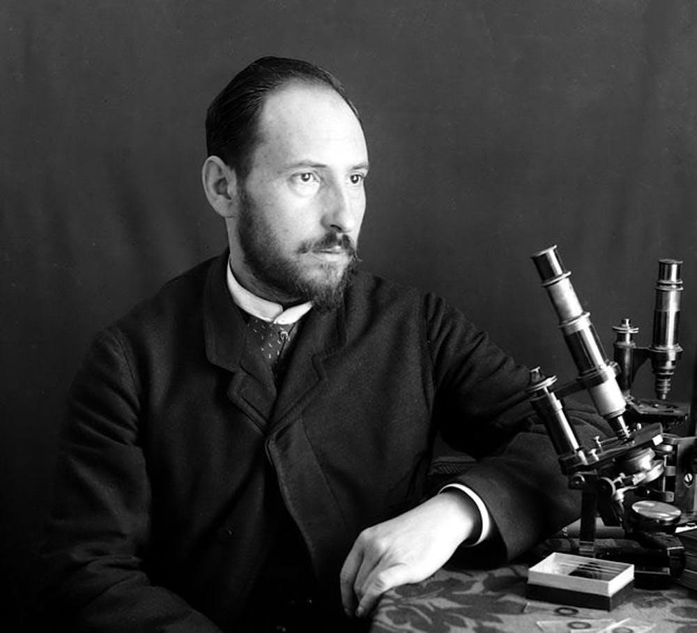 Santiago Ramón y Cajal. Wikipedia
