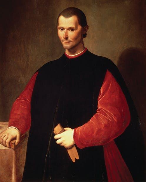 Retrato de Nicolás Maquiavelo de Santi di Tito. Wikimedia Commons