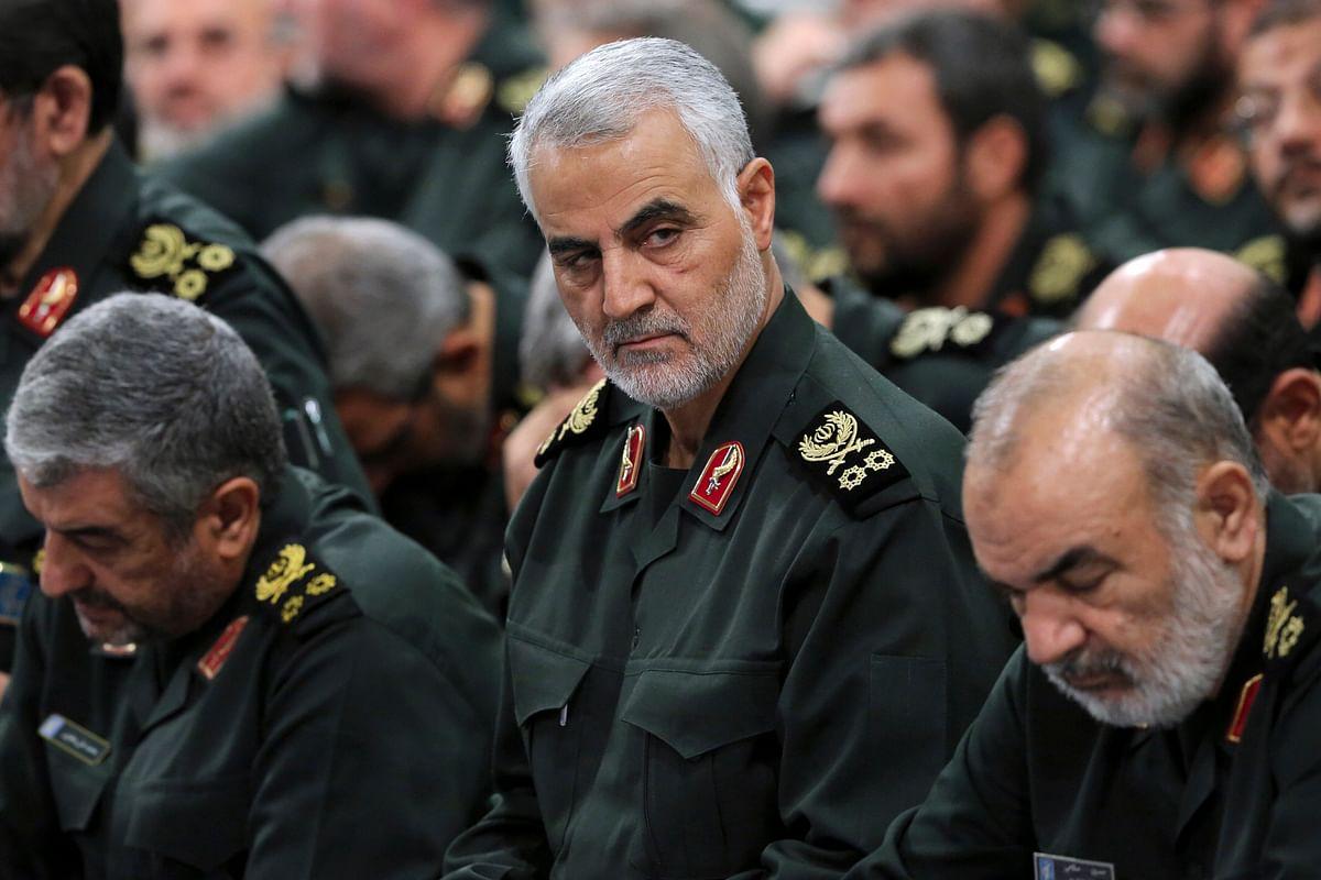 Qasem Soleimani fotografiado en 2018. EPA/EPA-EFE/Iranian Supreme Leader's Office