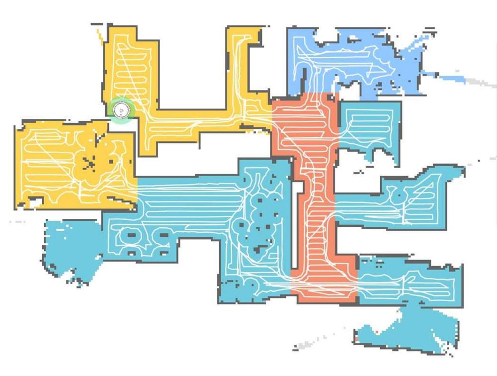Mapa creado por un robot doméstico de limpieza. Jordi Vitrià/Flickr, CC BY-NC-SA