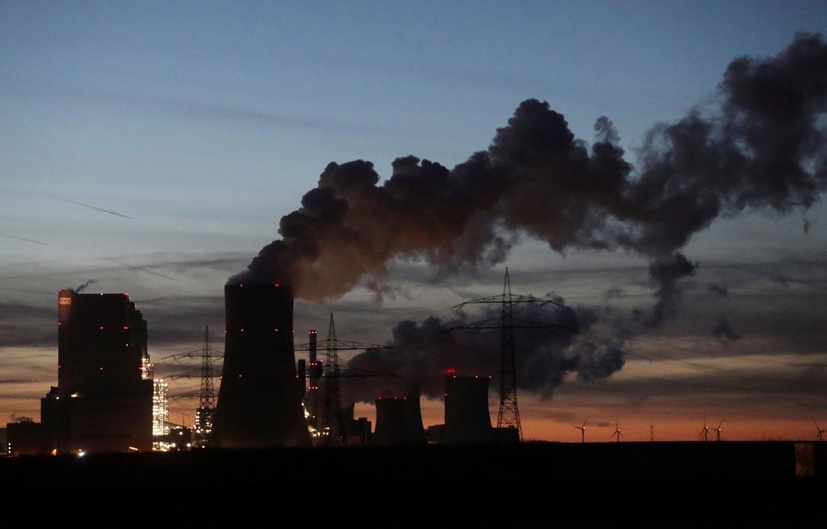 Central de carbón de la eléctrica alemana RWE, cerca de Colonia. REUTERS