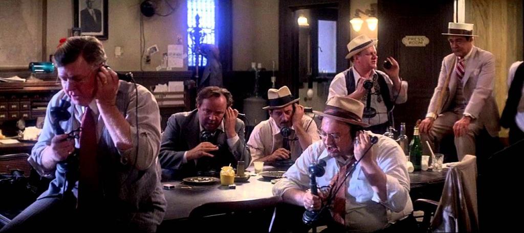 Imagen de la película 'Primera plan' de Billy Wilder.