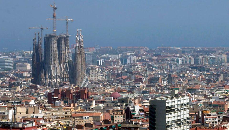 Vista de la ciudad de la Barcelona. EFE/Quique Garcia