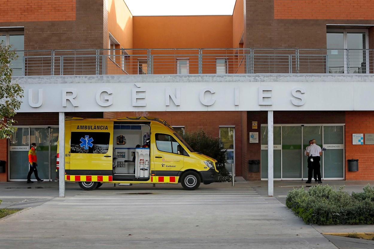 Vista del exterior del Hospital de Igualada (Barcelona). EFE/Susanna Sáez