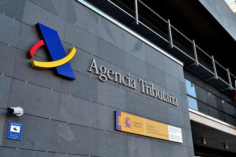 Oficina de la Agencia Trinutaria. EFE