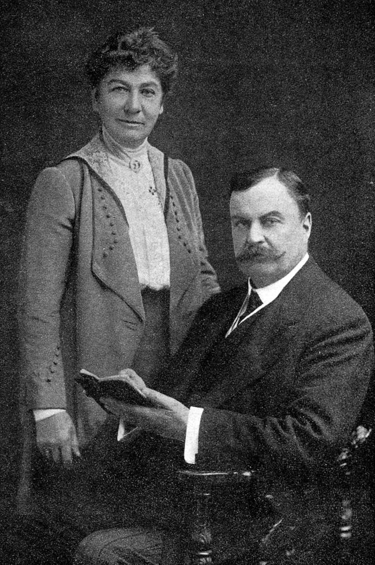 Mary y David Bruce. Wikimedia Commons
