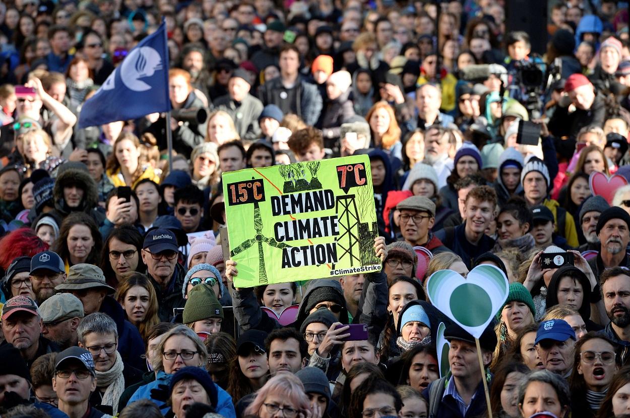 Marcha contra el cambio climático en Vancouver (Canadá). REUTERS/Jennifer Gauthier