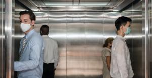 ¿Cuál es el riesgo de contraer la covid-19 en un ascensor?