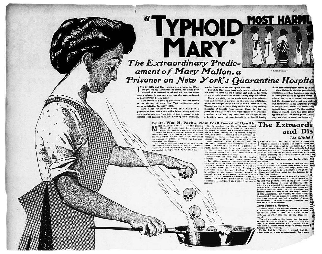 Mary Mallon (1870-1938) apodada