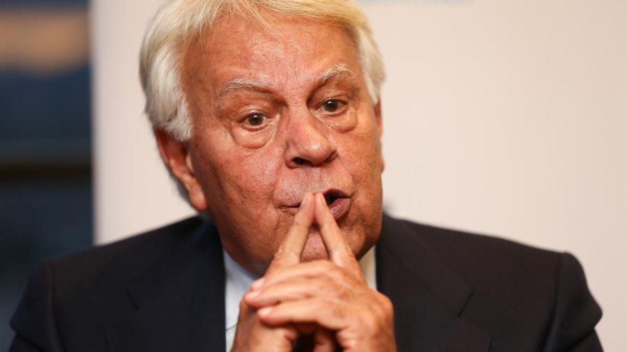El expresidente del gobierno español Felipe González. EFE/José Jácome