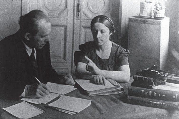 Ivan A. Sokolyansky y Olga Skorojodova.