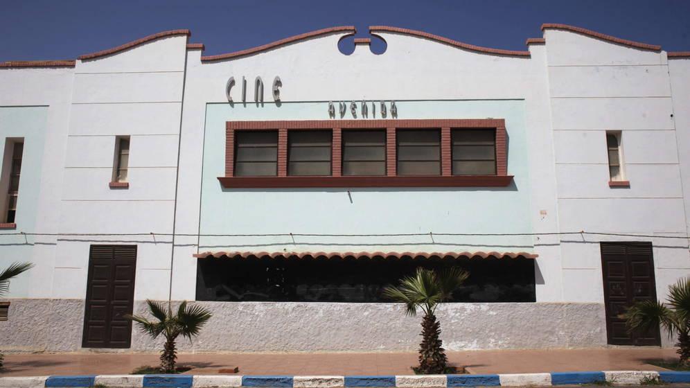 Un antiguo cine español en Sidi Ifni (Sáhara Occidnetal). EFE