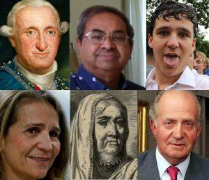 Las narices borbónicas de los primos indios del rey Juan Carlos refuerzan la idea del parentesco