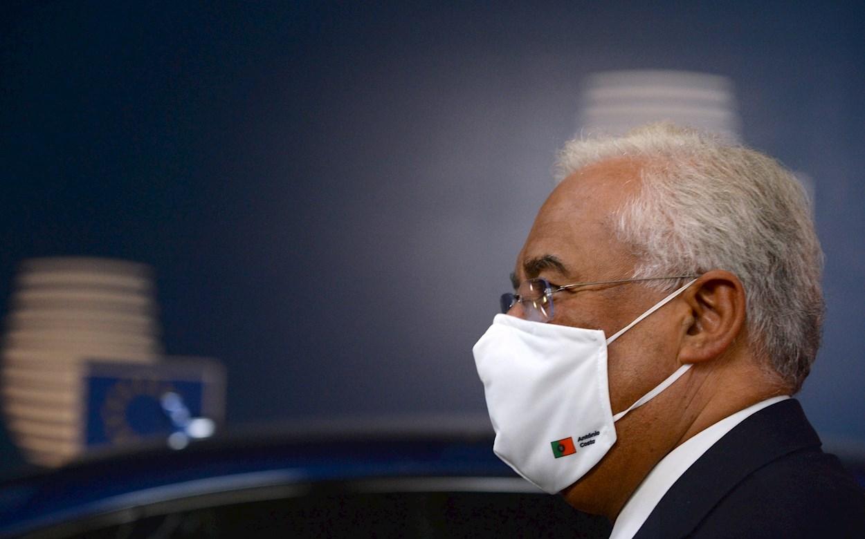 El primer ministro de Portugal, Antonio Costa. EFE/EPA/JOHANNA GERON