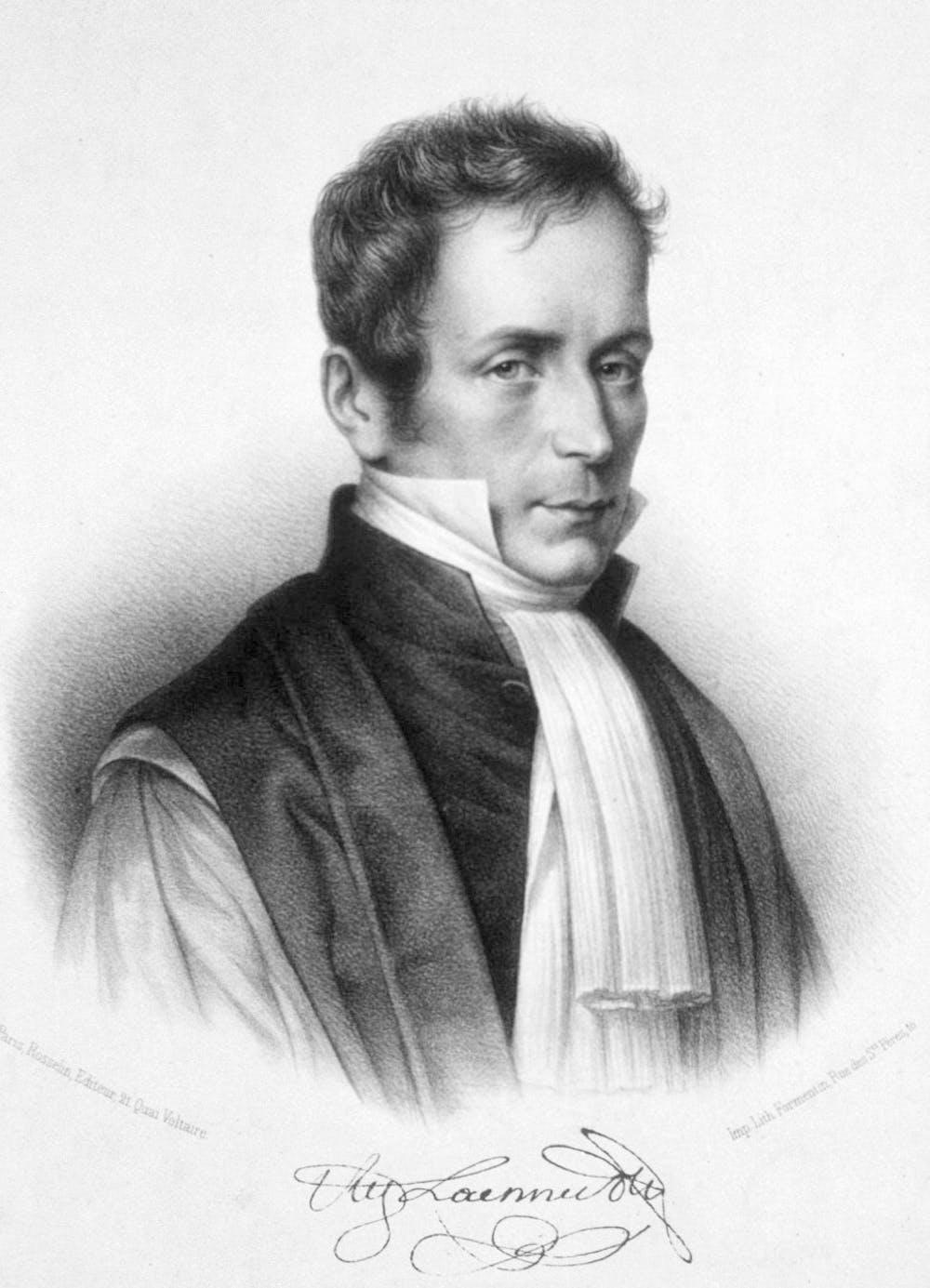 Rene Laennec (autor desconocido). Wikimedia Commons