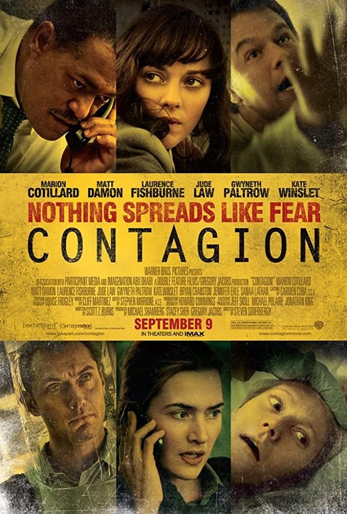 Cartel de la película 'Contagio'.