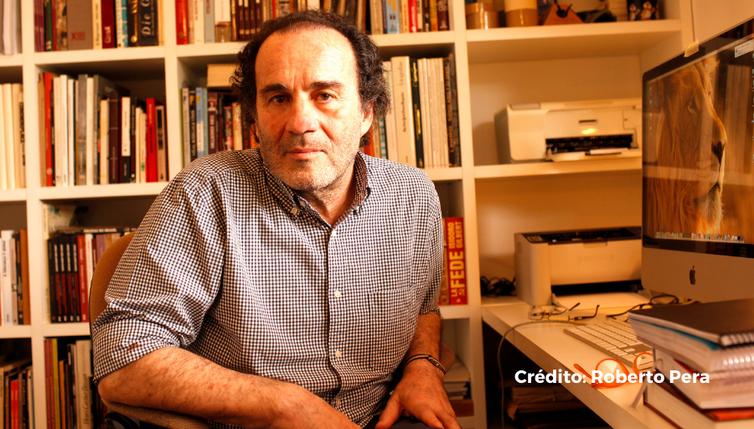 El historiador de la enfermedad Diego Armus. Ciper Chile / Roberto Pera