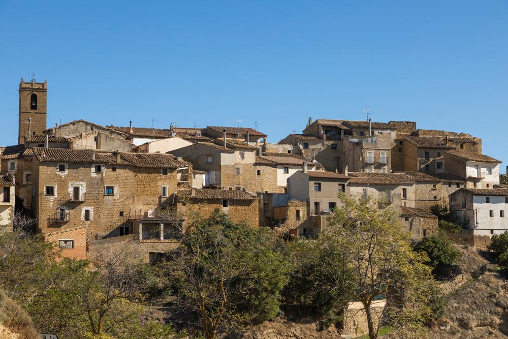 Vista de Ores (Aragón, España). Shutterstock / alvarobueno