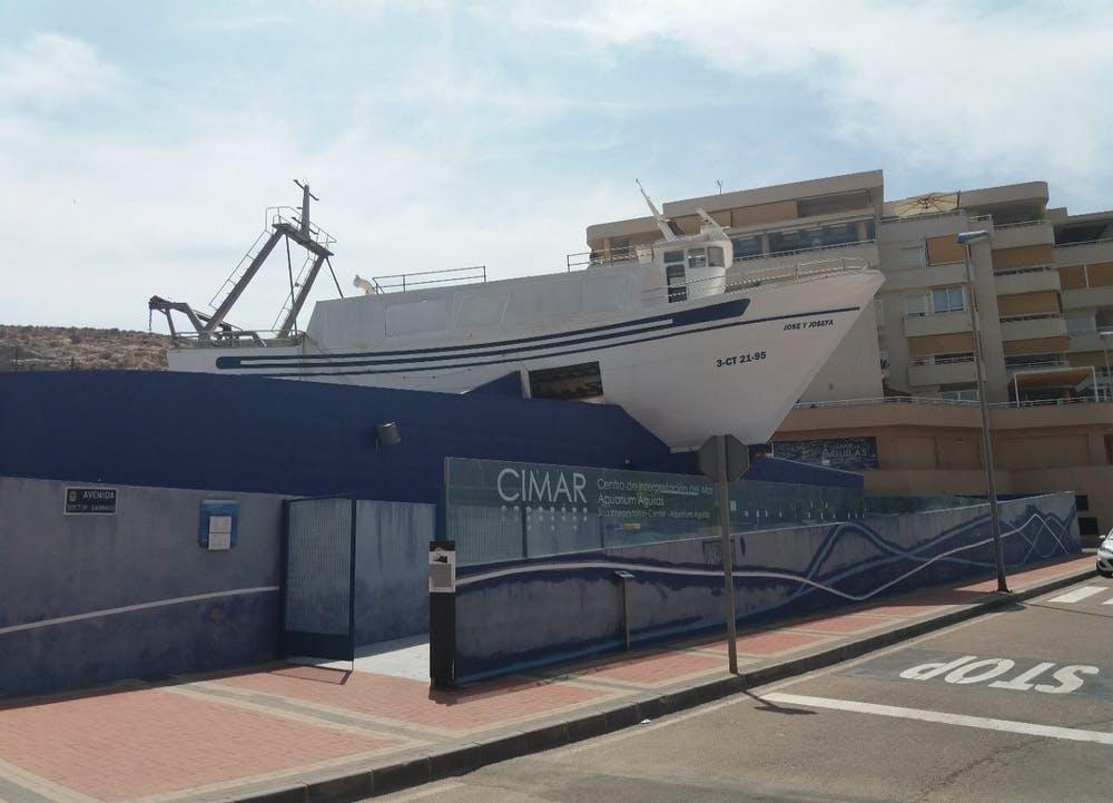 Centro de Interpretación del Mar (CIMAR) Águilas, Murcia.