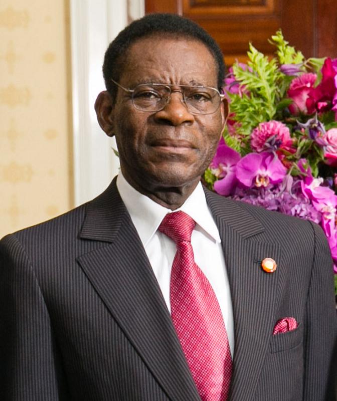 Teodoro Obiang en 2014. Wikimedia Commons / Amanda Lucidon / White House