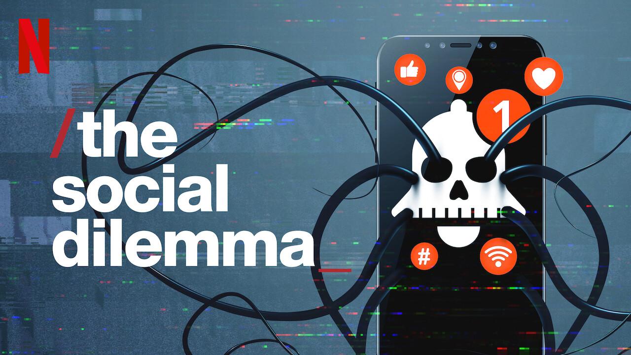 Cartel del documental 'The social dilemma'