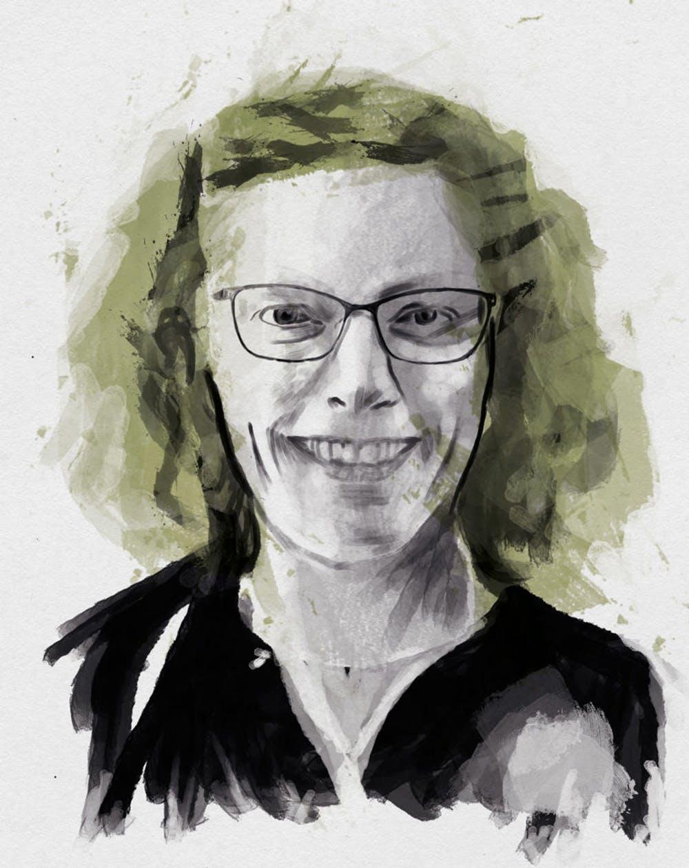 Anne Sverdrup-Thygeson retratada por Jeff Benefit. Telos