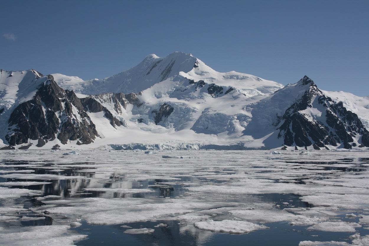 Paisaje antártico. Andrés Barbosa, Author provided