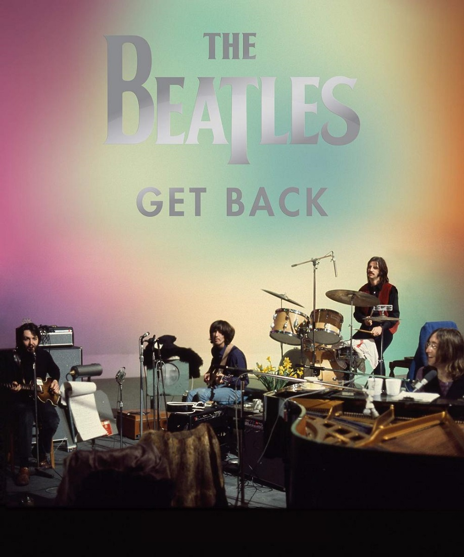 Cartel de la película documental 'Get Back', de Peter Jackson.