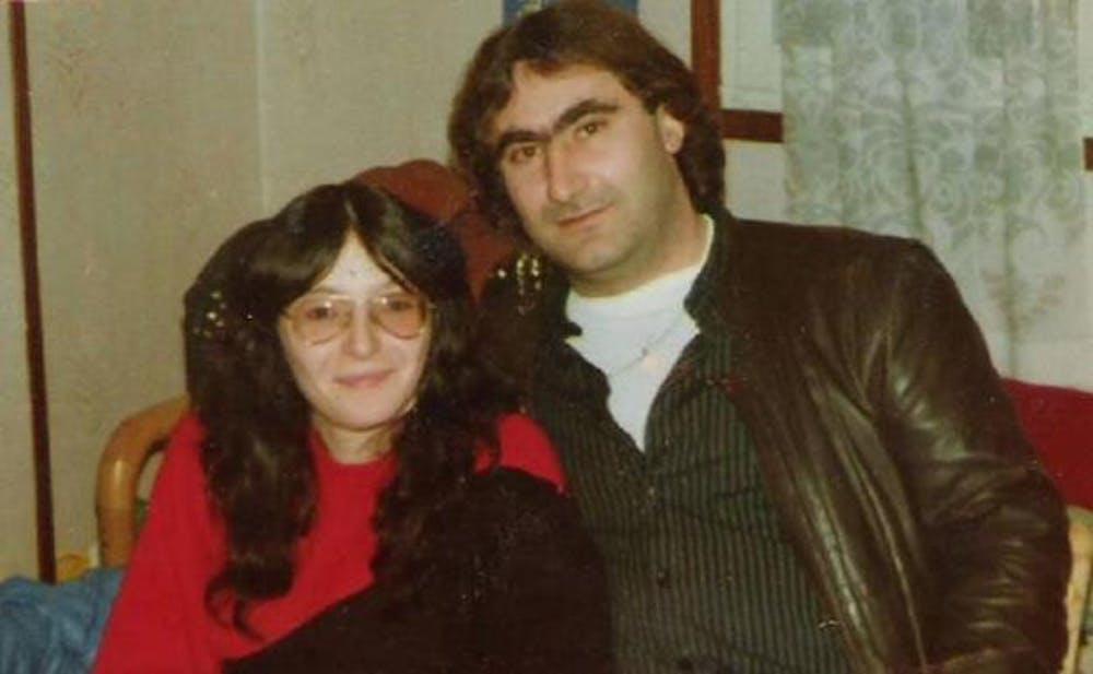 Teresa Moreno y Miguel Paredes, asesinados por ETA en San Sebastián el 6 de abril de 1990.