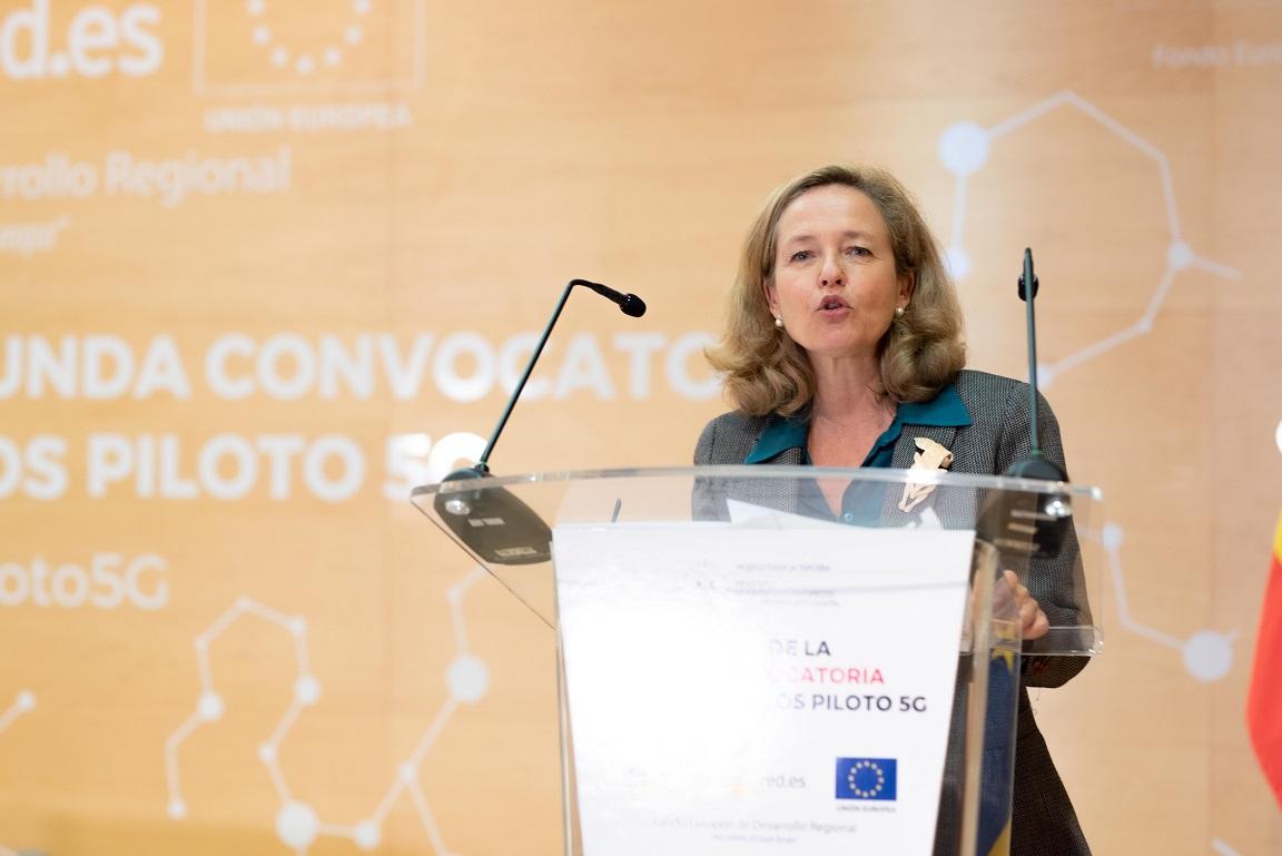 La vicepresidenta del Gobierno Nadia Calviño.- vicepresidenta segunda del Gobierno de España