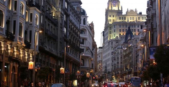 La Gran Vía de Madrid. EFE