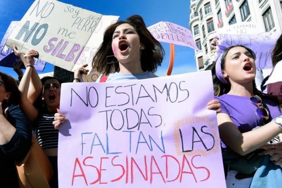 Imagen de archivo de una manifestación por el Día de la Mujer. — Ana Escobar Ana Escoba / EFE