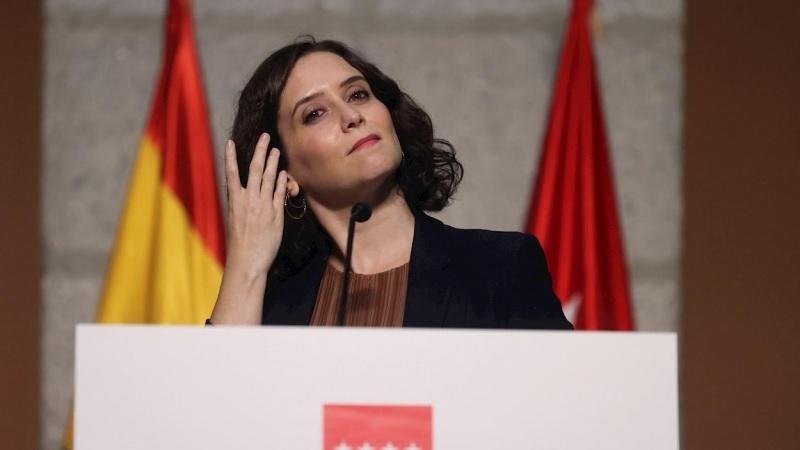 Imagen de archivo de la presidenta de la Comunidad de Madrid, Isabel Díaz Ayuso. - Juanjo Martín / EFE