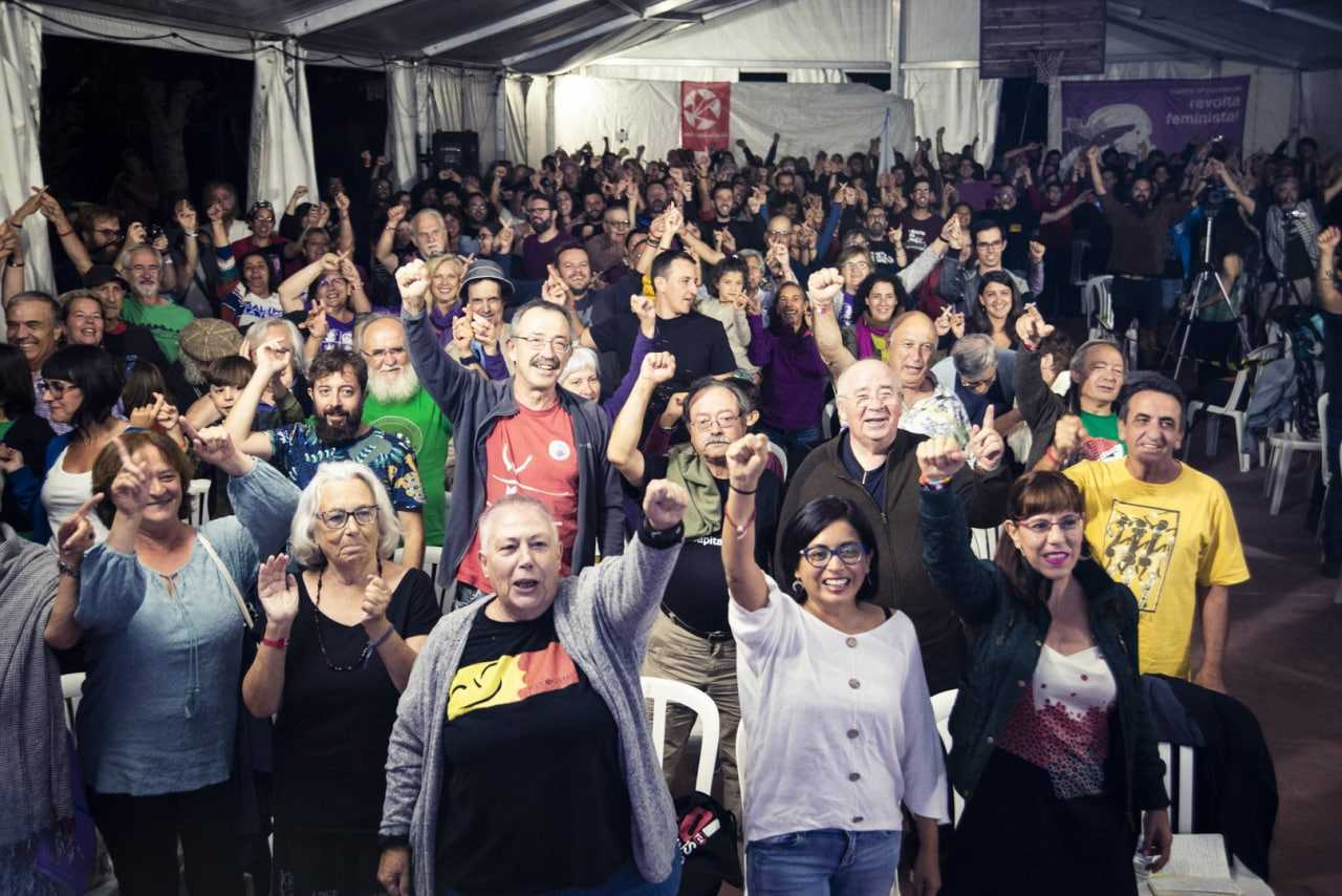 Acto de cierre de la Universidad de Verano de 2019 de Anticapitalistas.