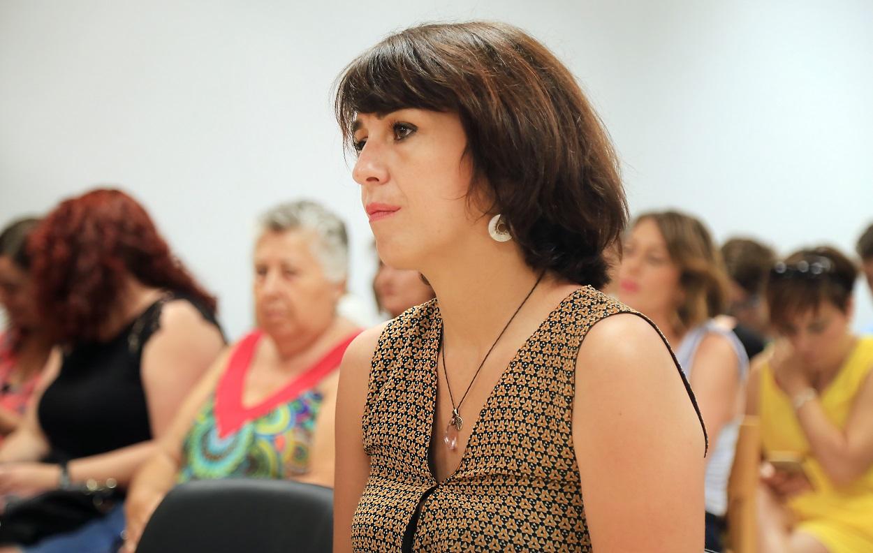 Juana Rivas, durante su juicio, en julio de 2018. EUROPA PRESS