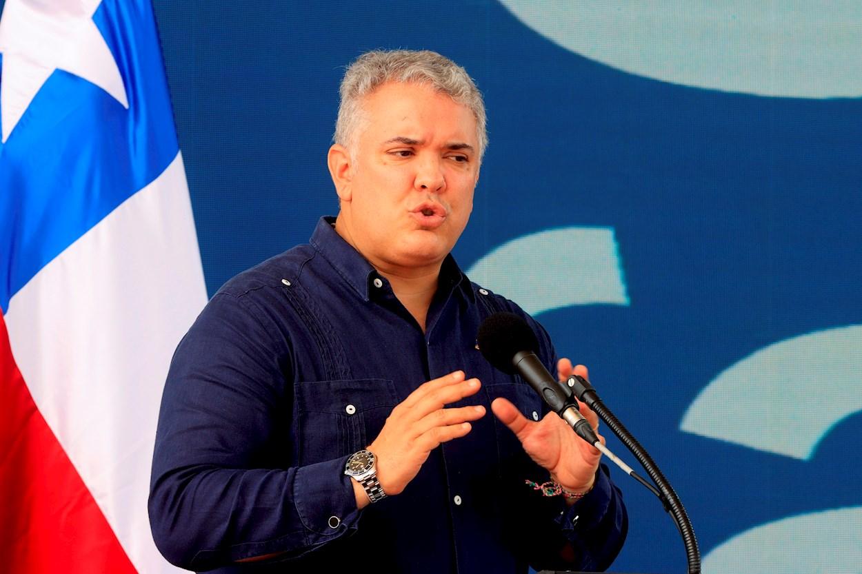El presidente de Colombia, Iván Duque. / Ricardo Maldonado (EFE)